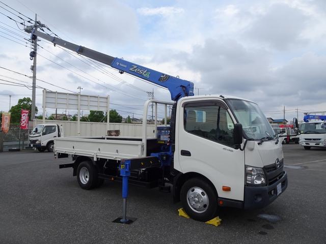 日野 デュトロ  4段クレーン付 タダノ ZE294HR ラジコン付 セミワイド ロング 2t積み