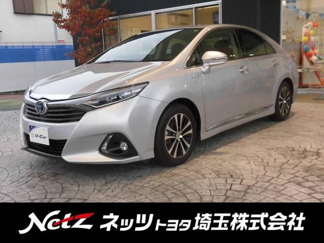 トヨタ G Aパッケージ 元試乗車 メーカーナビ