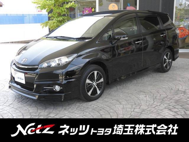 トヨタ 1.8Sモノトーン フルセグ SDナビ 後席モニター