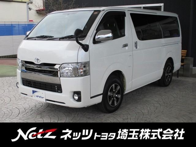 トヨタ スーパーGL ダークプライム ロングボディ 純正SDナビ