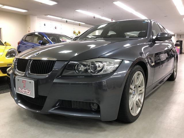 BMW 3シリーズ 320i Mスポーツパッケージ Mスポーツ専用パワーシート&ハンドル&17インチアルミ ディーラー車 右ハンドル 走行20,000km ETC
