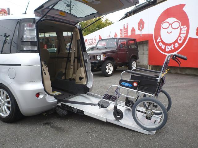 トヨタ Xウェルキャブ スロープタイプI 電動固定装置付 2年間保証