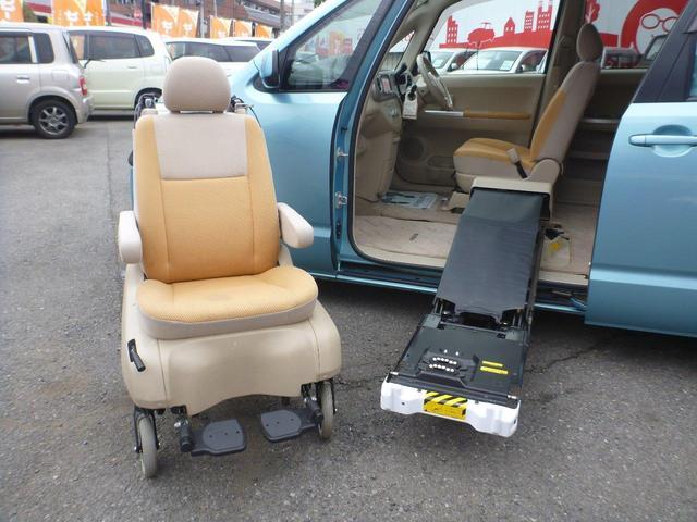 トヨタ 150rウェルキャブ サイドアクセス車 脱着シート ナビTV