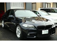 BMW535i Mスポーツパッケージ黒革SR純ナビ地デジBカメラ