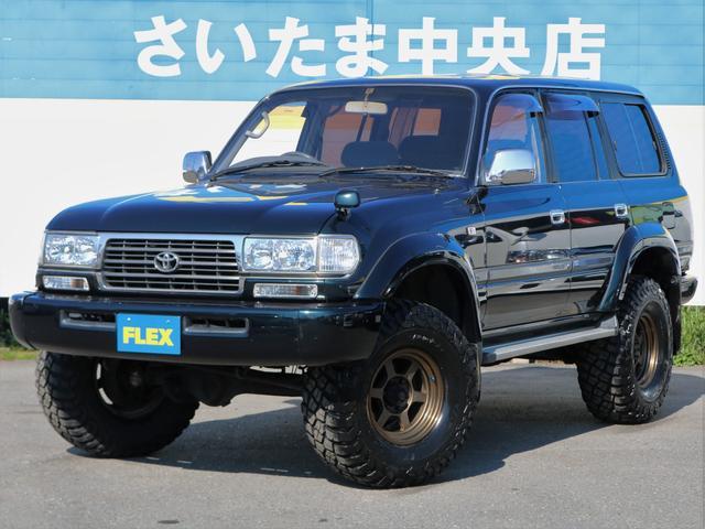 トヨタ VX 買取直販 純正グリーン サクソンマフラー サンルーフ付
