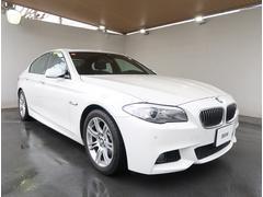 BMW528i Mスポーツパッケージ 左H 黒革 SR ナビBカメ