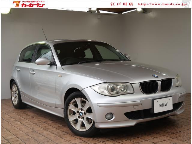 BMW 1シリーズ 118i ワンオーナー 純正オーディオ CD ラジオ 純正マット 電格ミラー ETC プッシュスタート ポータブルナビ パワーステアリング パワーウィンドウ ダブルエアバック 16AW