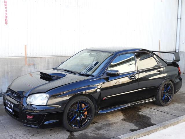 スバル WRX STi Tベルト交換済 アルミラジエター 車高調