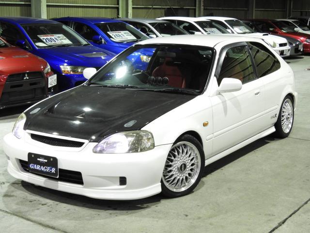ホンダ タイプR X ミッションO/H済 車高調 マフラ- エアクリ 追加メ-タ- カーボンボンネット