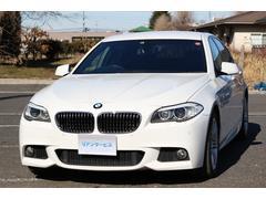 BMW528iMスポーツPKG 1オーナー 純ナビTV 黒革シート