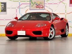 フェラーリ 360モデナF1 タンレザー内装 走行15300キロ