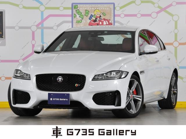ジャガー S ブラック/レッドレザーインテリア 弊社社用車