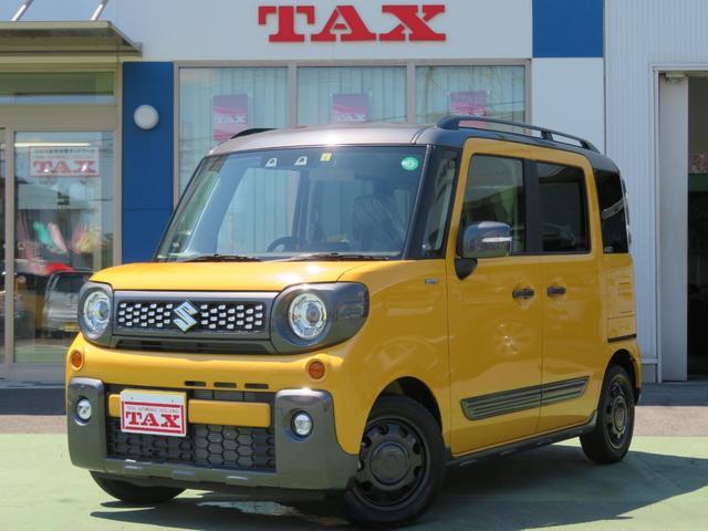 スズキ ハイブリッドXZ ターボ 後期型・当社展示車・両側電動スライドドア・LEDライト・クルーズコントロール・シートヒーター