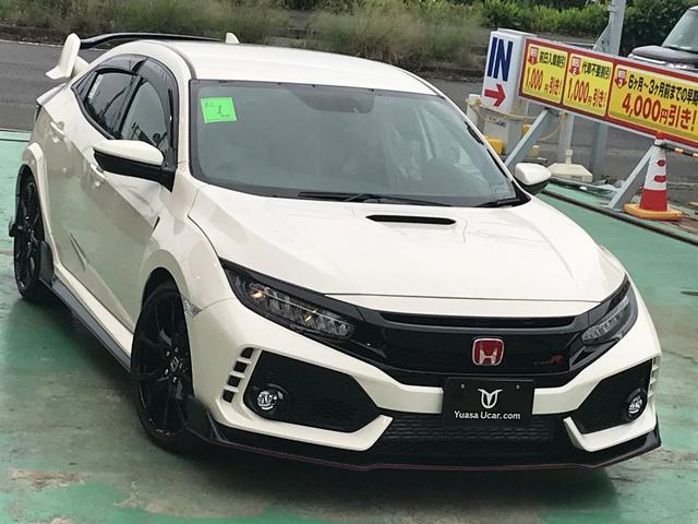 ホンダ タイプR・インターナビ・マット・バイザー
