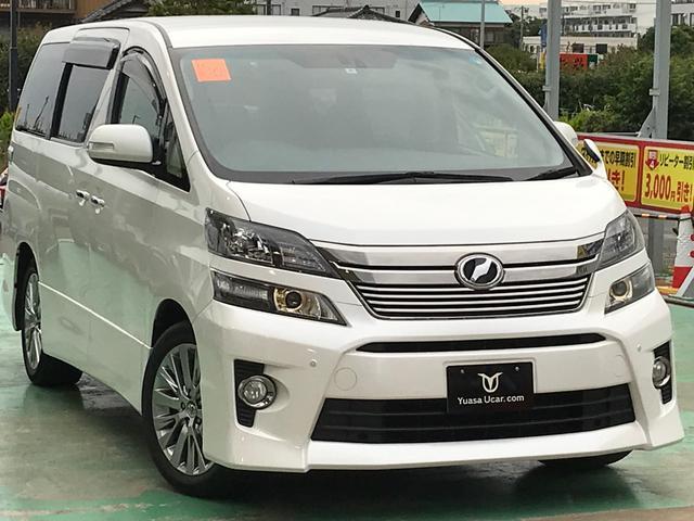 トヨタ 2.4Z ゴールデンアイズ・純正8インチナビ・バックカメラ