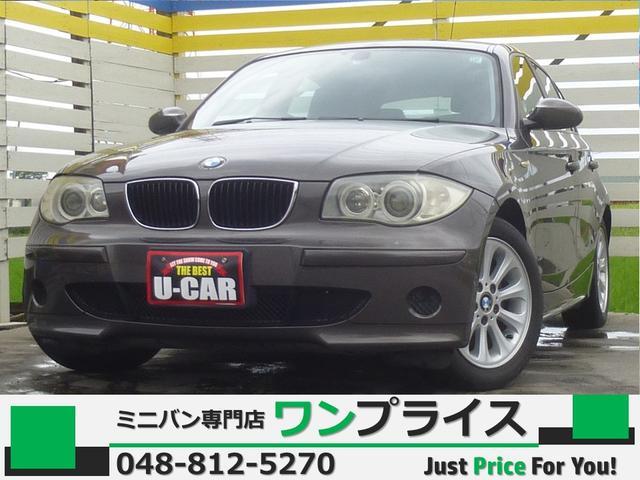 BMW 116i HDD DVD再生 ETC AW HID