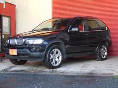 BMW X53.0i サンルーフ 白革シート 純正アルミ ミラーETC