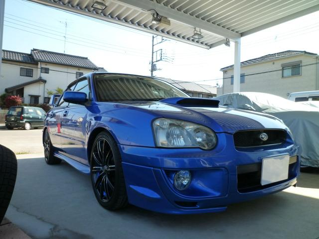 スバル WRX 2004Vリミテッド・ゲノム・ウェッズSP・Defi
