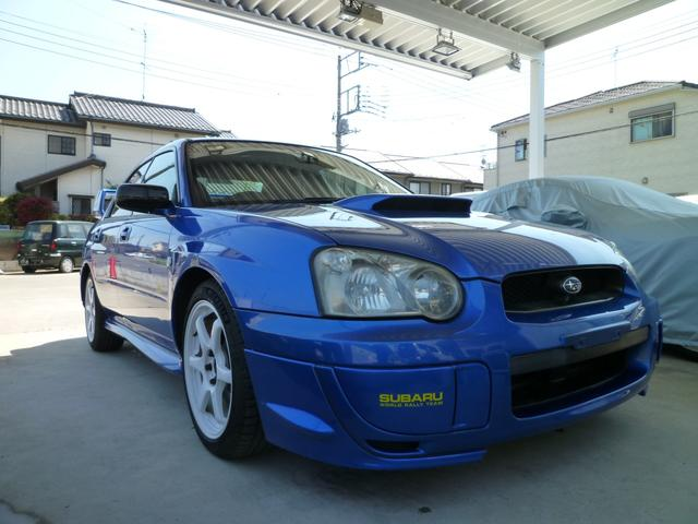 スバル WRX WR-リミテッド2004・プロドライブゲノムマフラー