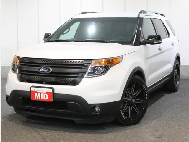 フォード XLT 4WD 20インチアルミ ブラックグリル HID
