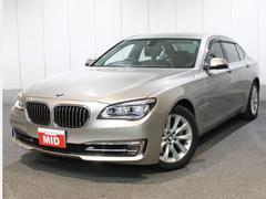 BMW740iプラスパッケージ 茶革 ナビ TV ETC