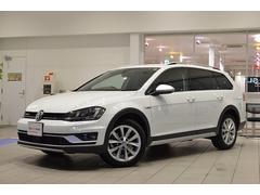 VW ゴルフオールトラックTSI 4モーション  純正ナビ リアカメラ 認定中古車