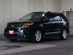 フォード エクスプローラー2013モデル 禁煙車 サンルーフ  ブラックレザーシート