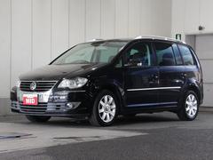 VW ゴルフトゥーランTSI ハイライン 禁煙車 ツインチャージャー HDDナビ