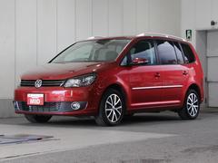 VW ゴルフトゥーランTSI ハイライン ワンオーナー 禁煙車 純正SDナビ