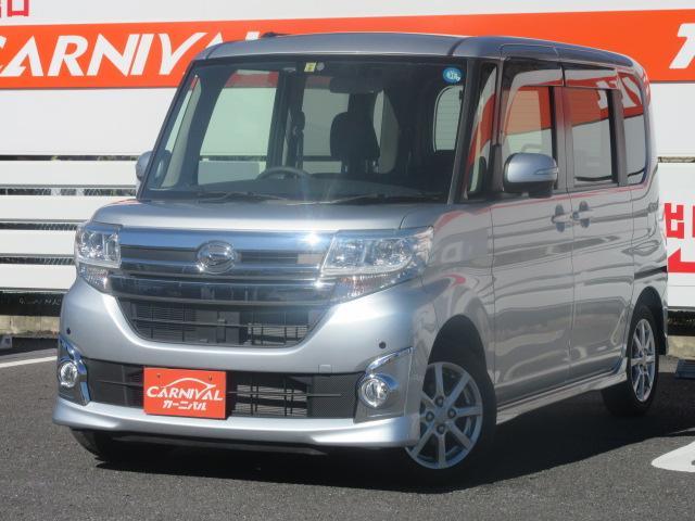 ダイハツ カスタムX ID車両・社外Mナビ・フルセグ・ドラレコ