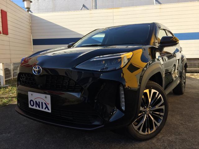 トヨタ ヤリスクロス ハイブリッドZ ---新 車--- 8型ディスプレイオーディオ・オプションエントリーナビゲーション・ナビ連動ETC・パノラミックビューモニター・リアスポイラー付