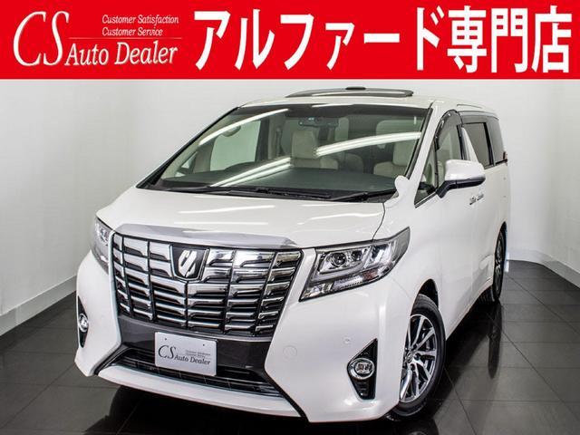 トヨタ 2.5G 現行型 サンルーフ リアモニター メーカーSDナビ