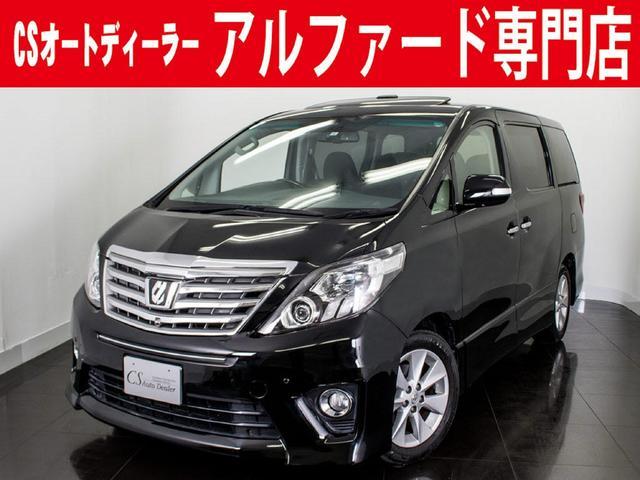 トヨタ 350S C-PKG 新品黒革 SR 禁煙 リアモニター