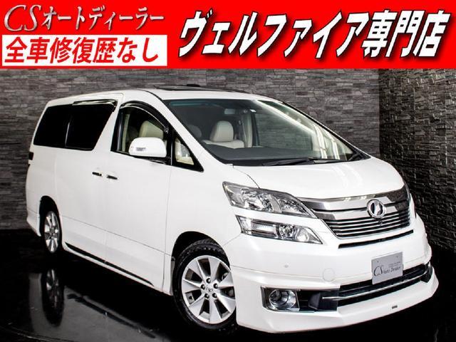 トヨタ 3.5V-LーED PサウンドSR本革モデリスタエアロ