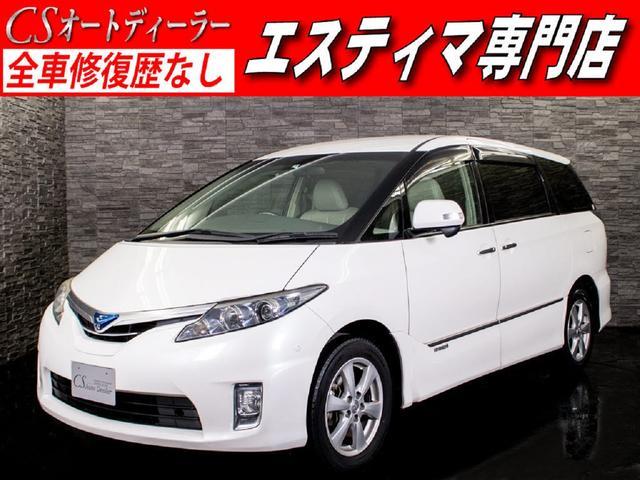 トヨタ G レザーパッケージ 1オーナー本革 禁煙 3列目電動シート