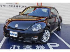 VW ザ・ビートルデザインレザーパッケージ  純正ナビ Bカメラ シートヒータ