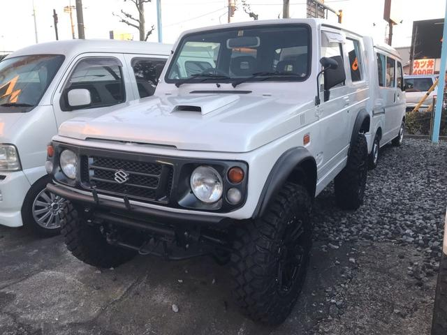 スズキ ランドベンチャー 4WD リフトアップ