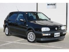 VW ゴルフVR6・左H・記録簿・禁煙車・黒革シートカバー