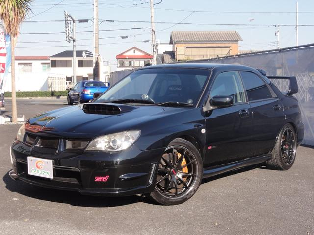 スバル WRX STi6速 レイズ18AW マフラー 車高調 ナビ