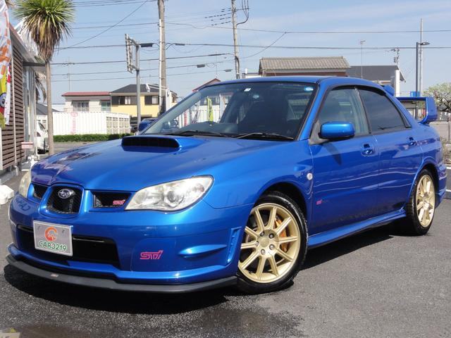 スバル WRX STi BLITZ車高調 STIマフラー ストラーダ