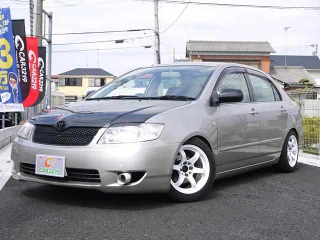 トヨタ G 5速 15AW マフラー 車高調 RECARO エアクリ