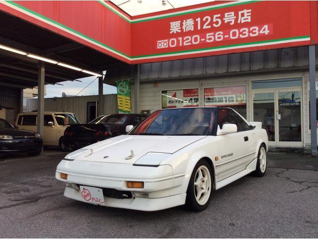トヨタ Gリミテッド スーパーチャージャー 5速マニュアル エンケイ