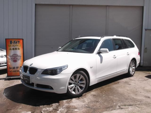 BMW 525iツーリングハイラインパッケージ サンルーフ 革シート