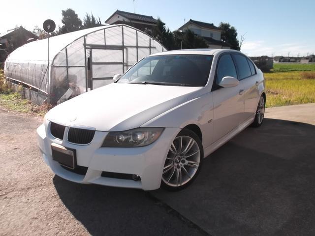 BMW 320i Mスポーツパッケージ サンルーフ 社外ナビ TV 純正アルミ ディスチャージ
