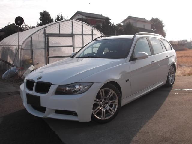 BMW 3シリーズ 325iツーリング Mスポーツパッケージ サンルーフ 社外ナビ Bカメラ 社外テールランプ キーレス ETC