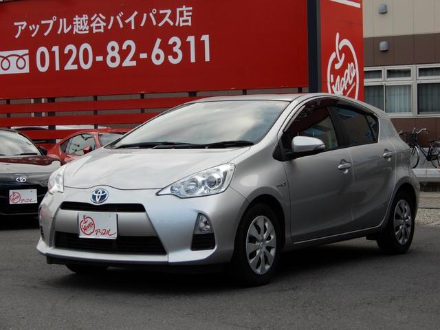 トヨタ Sスマートキー・社外ナビ・HV対応保証付