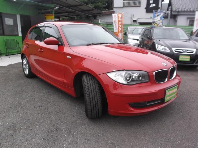 BMW 120i HDDナビ フルセグTV ETC 純正アルミ