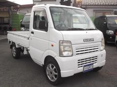 キャリイトラックKCエアコンパワステ 4WD 高低二段切替式 F5