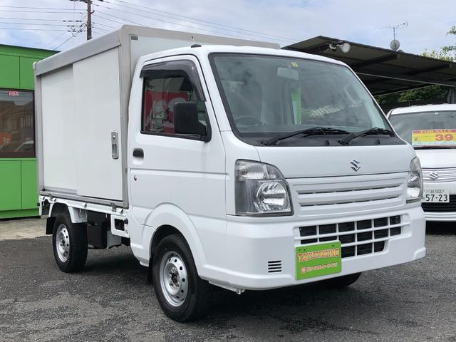 スズキ キャリイトラック パネルバン 特装ベース車 ワンオ-ナー 4WD キーレス エアコン