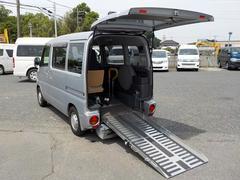 NV100クリッパーバン福祉車両 チェアキャブ スロープ仕様 補助席あり